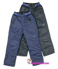 052 зима штаны рисунок средние теплые