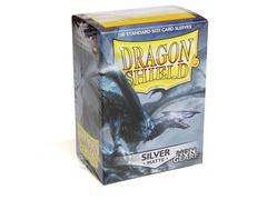 Dragon Shield - Серебряные небликующие матовые протекторы 100 штук