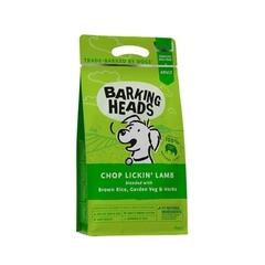 """Корм для собак, BARKING HEADS Chop Lickin' Lamb """"Мечты о ягненке"""", с ягненком и рисом"""