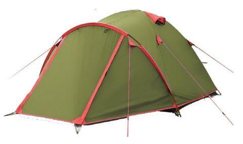 Туристическая палатка Tramp Lite Camp 3 (зеленый)