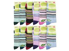 8133 носки женские 36-40, цветные (12шт)