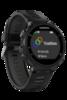 Беговые часы Garmin Forerunner 735XT HRM-Run черно-серые