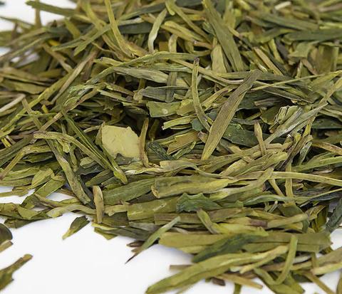 Китайский зеленый чай «Колодец Дракона» (Лун Цзин, 10 гр)