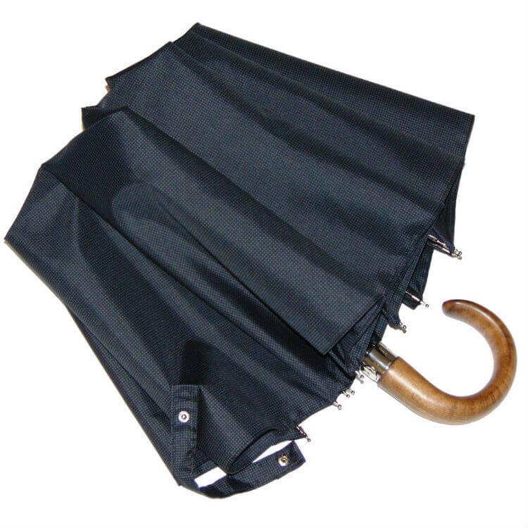 Зонт складной Guy de Jean 7036-squ Poignee Bois