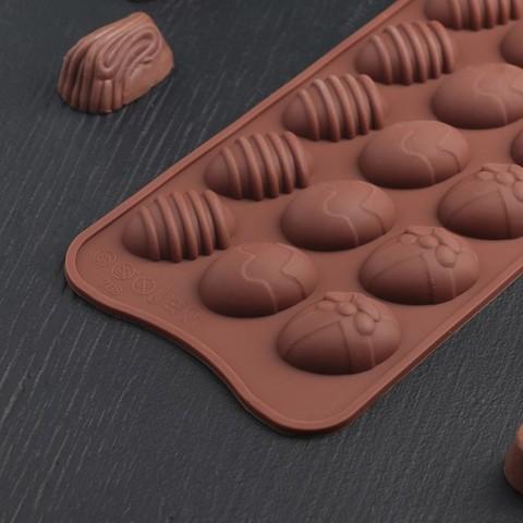 Форма для льда и шоколада «Пасхальные яйца»