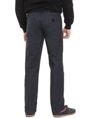 1-1154 джинсы мужские, темно-синие