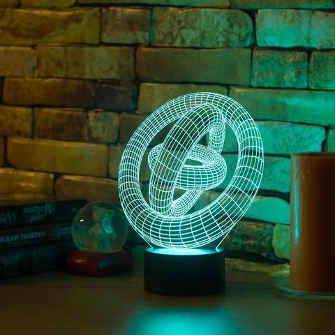 3D светильник Абстракция #1