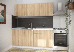Кухонный гарнитур Ронда 1,8м цвет: сонома