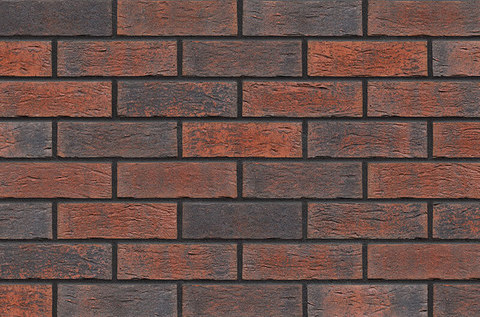 King Klinker - Bengali night (HF06), Old Castle, 240x71x10, NF - Клинкерная плитка для фасада и внутренней отделки