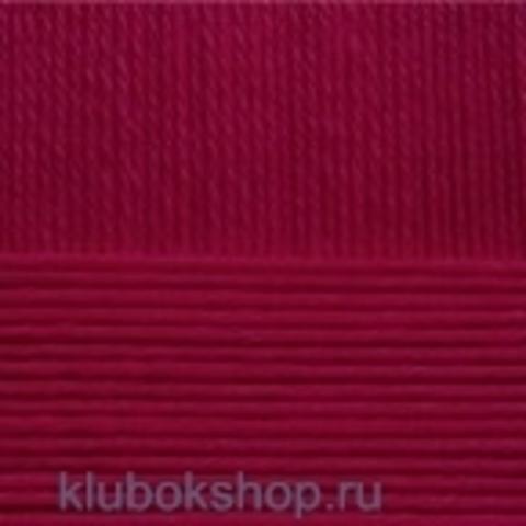 Пряжа Элегантная (Пехорка) 323 Темный бордо - купить в интернет-магазине недорого klubokshop.ru