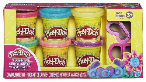 Hasbro Play-Doh Sparkle Compound Collection