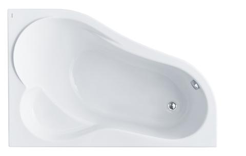 Акриловая ванна Santek Ибица 150х100 R асимметричная белая 1WH112035