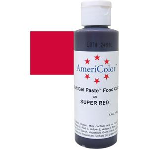 Краска краситель гелевый SUPER RED 220, 127 гр