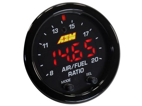 AEM X Series: Широкополосная лямбда с 52мм индикатором.