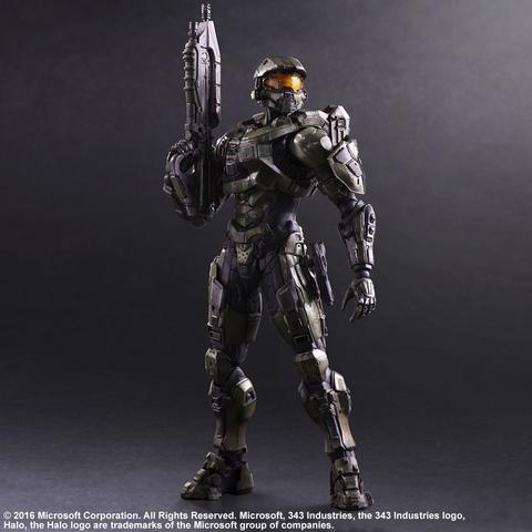Хало 5 Стражи фигурка Мастер Чиф (копия) — Halo 5 Guardians Master Chief Play Arts Kai (copy)