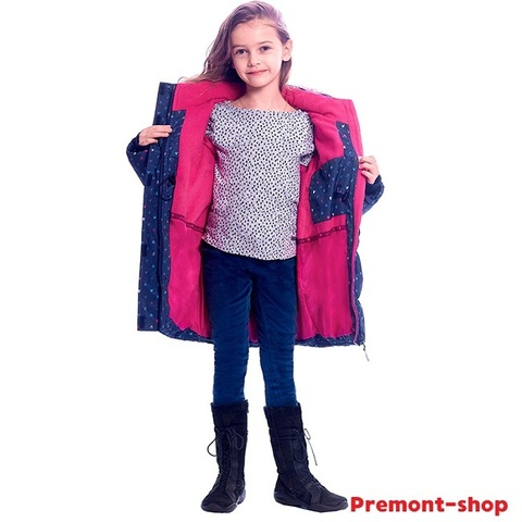 Зимняя куртка Premont Лоллипопс W91473 BLUE