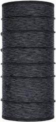 Тонкий шерстяной шарф-труба Buff Wool lightweight Slim Graphite Multi Stripes