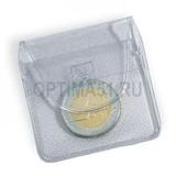 Чехол (кармашек) полимерный 50х50 для монеты до 46 мм