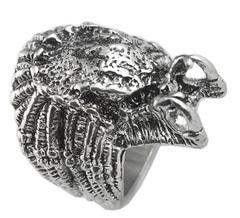 Хищник кольцо металлическое