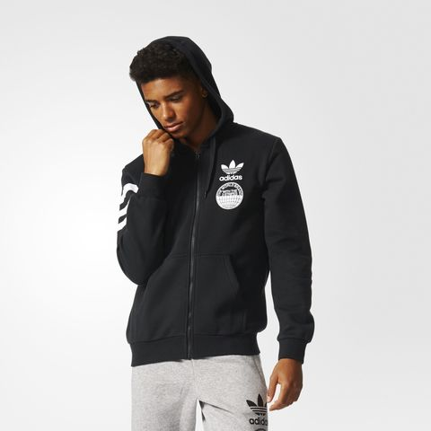 Джемпер мужской adidas ORIGINALS STREET GRAPHIC FZ