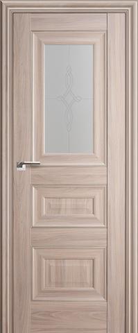 > Экошпон Profil Doors №26Х-Классика, стекло узор, цвет орех пекан, остекленная