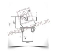 Уплотнительный профиль_011 (тип ПР) для холодильного оборудования.