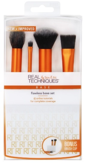 Real Techniques Flawless Base Set набор кистей
