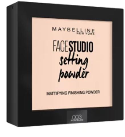 MBL FaceStudio Setting powder пудра компактная №003 фарфоровый