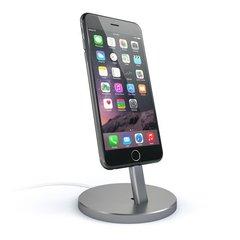 Подставка Satechi Aluminum Desktop Charging Stand для iPhone, серый космос