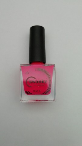 Лак для стемпинга Swanky Stamping №022, неоновая маджента,  10 мл.