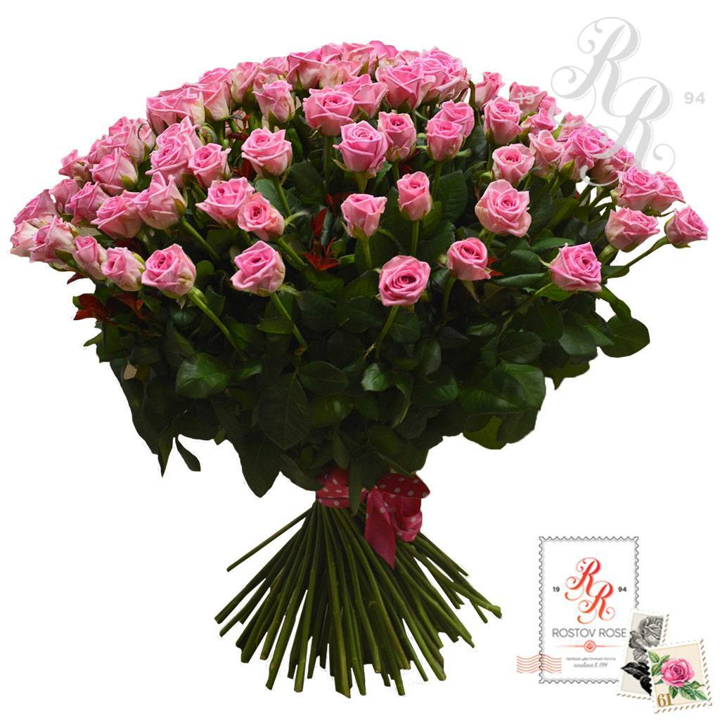 Букет роз Аква