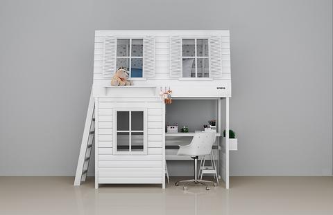 Кровать-чердак для мальчика