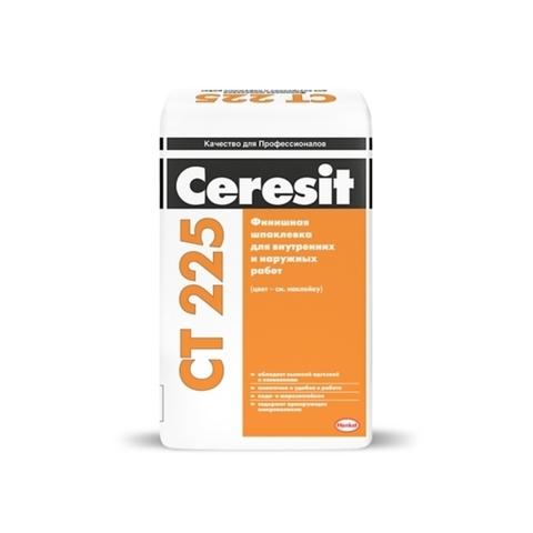 Ceresit CT 225/Церезит ЦТ 225 финишная шпаклевка