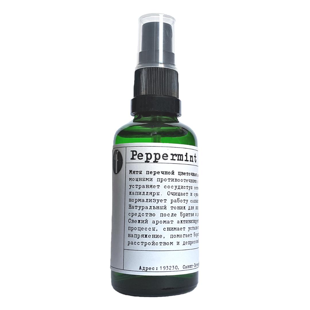 Мяты перичной гидрозоль / Peppermint hydrosol. (50мл)