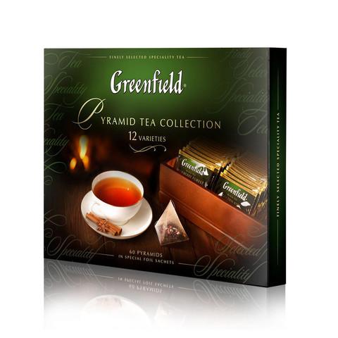 Чай Greenfield коллекция чая в пирамидках 60 пир.