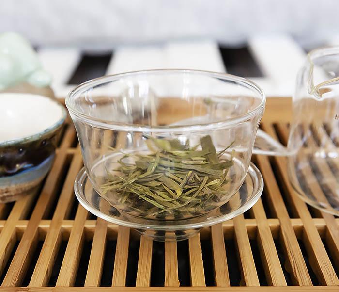 TEA-CH104 Китайский зеленый чай «Колодец Дракона» (Лун Цзин, 10 гр) фото 08