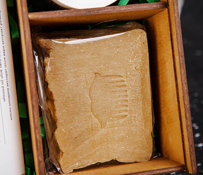 Мужской набор: шампунь, мыло для тела и паста для укладки фото 03