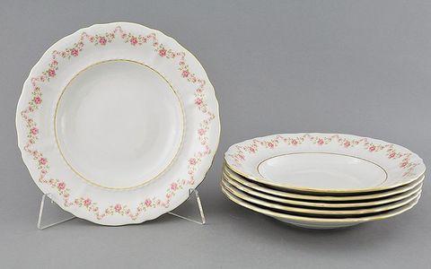 Набор тарелок глубоких 23 см 6 штук Соната Leander