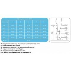 Чулки Ergoforma 217 антиэмболические 1 класс компрессии