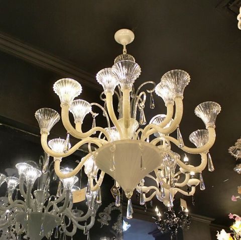 murano chandelier SYLCOM   12-13  by Arlecchino Arts ( HK)