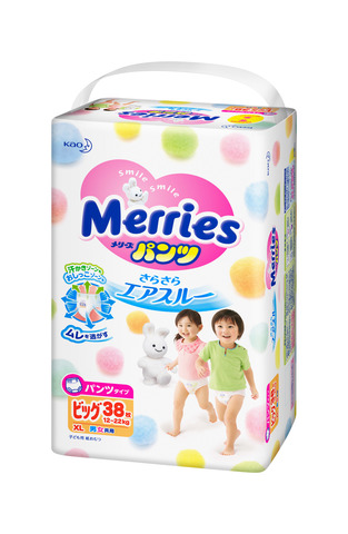Трусики XL 12-22 кг Merries Меррис