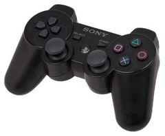 Sony PS3 Контроллер игровой беспроводной (черный, копия)