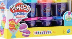 Пластилин Play-Doh Plus 8 цветов, в ассортименте