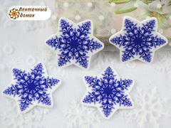 Планер Снежинка темно-синяя (глянец)
