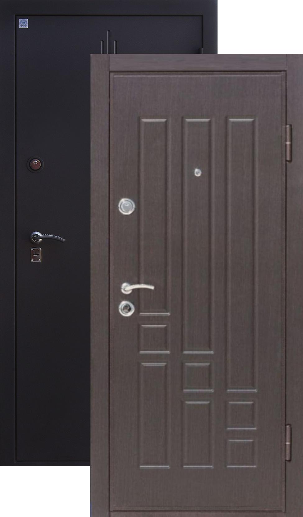 металлическая дверь в квартиру толщина 2 5 мм