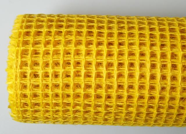 Сетка мелкая желтая 5м*50см