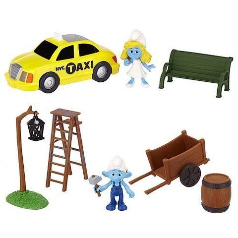 The Smurfs Movie Adventure Packs Figures