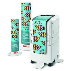 Цветной принтер OKI C824DN