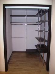 Комната с гардеробной системой 150 х 200 см