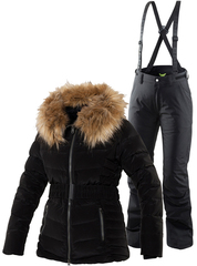 Тёплый горнолыжный костюм Joline Ewe Black женский